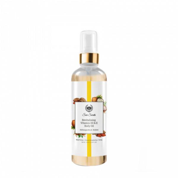 Seer Sercrets Revitalising Vitamin D3 & E Oil, 100ml