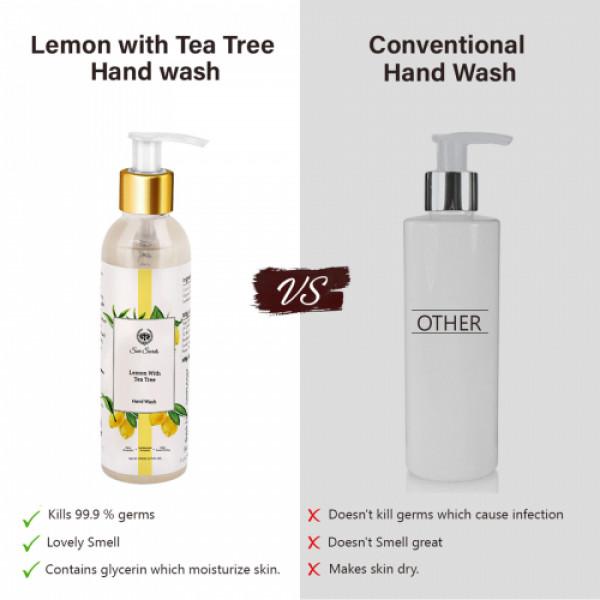 Seer Secrets Lemon Hand Wash, 200ml