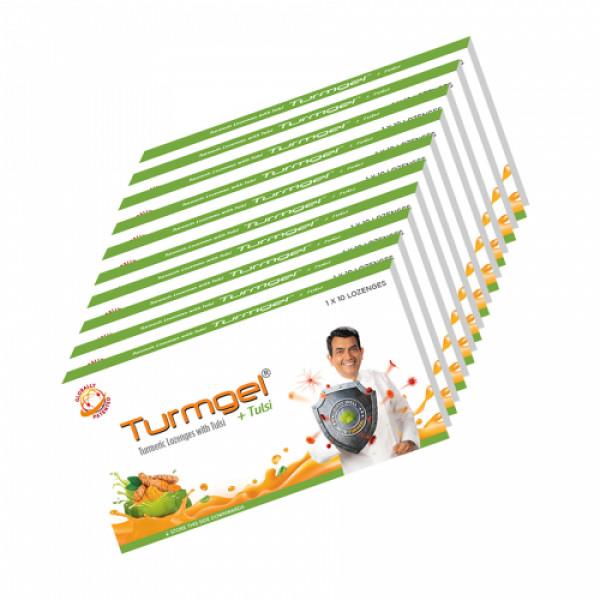 Turmgel T, 10 Lozenges (Pack of 10)