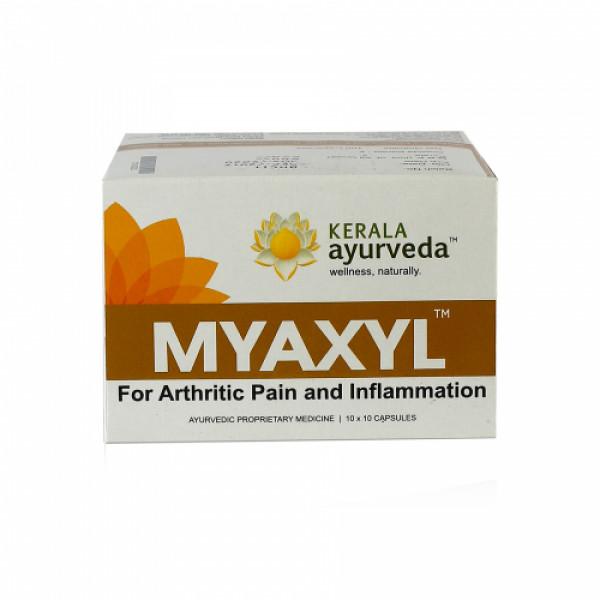 Kerala Ayurveda Myaxyl, 100 Capsules