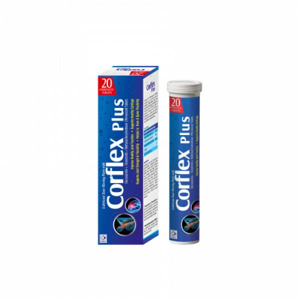 Coral's Corflex Plus Effervescent, 20 Tablets