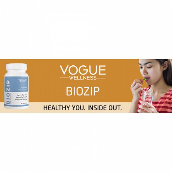Vogue Wellness Biozip, 60 Capsules