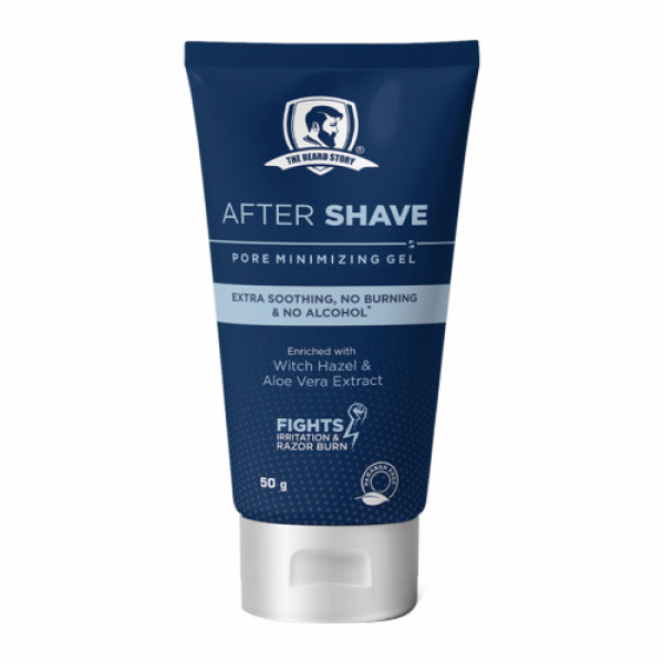 The Beard Story After Shave Pore Minimizing Gel, 50gm