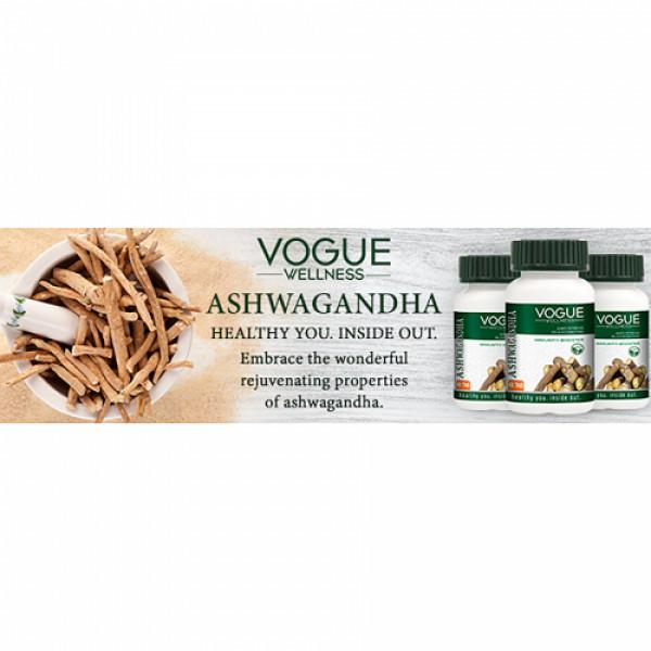 Vogue Wellness Ashwagandha, 60 Tablets