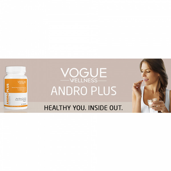 Vogue Wellness Andro Plus, 30 Tablets