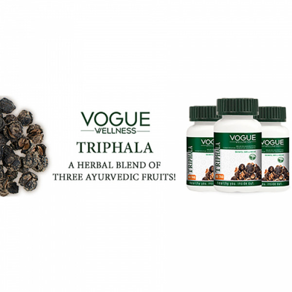 Vogue Wellness Triphla, 60 Tablets