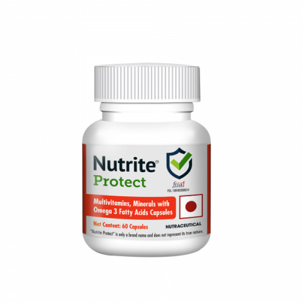Nutrite Protect Multi Vitamin Immunity Booster, 60 Softgels