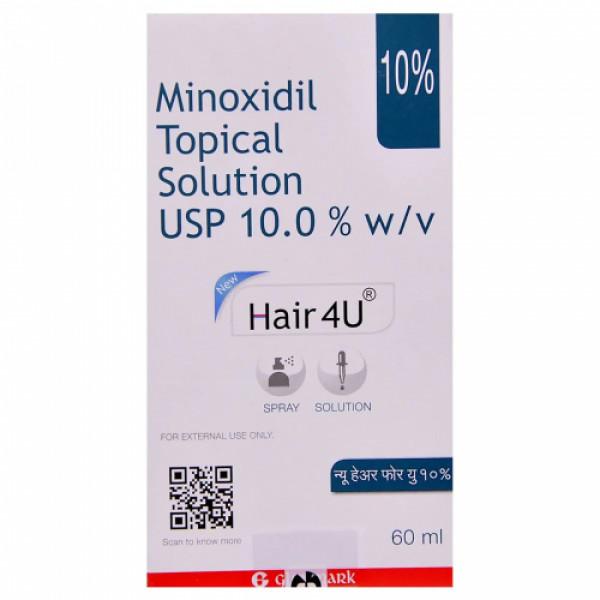 New Hair4U 10% Solution, 60ml