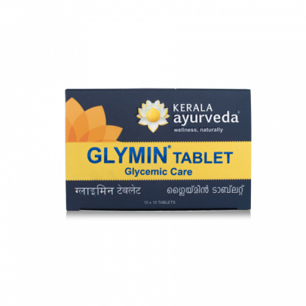 Kerala Ayurveda Glymin, 100 Tablets