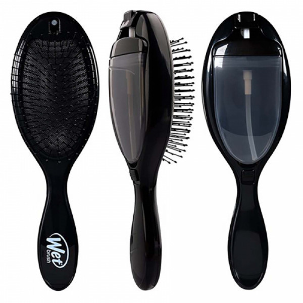 Wet Brush 2 In 1 Treatment Brush, Black