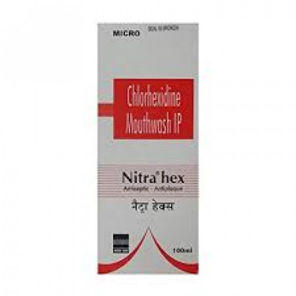 Nitra Hex Mouth Wash, 100ml