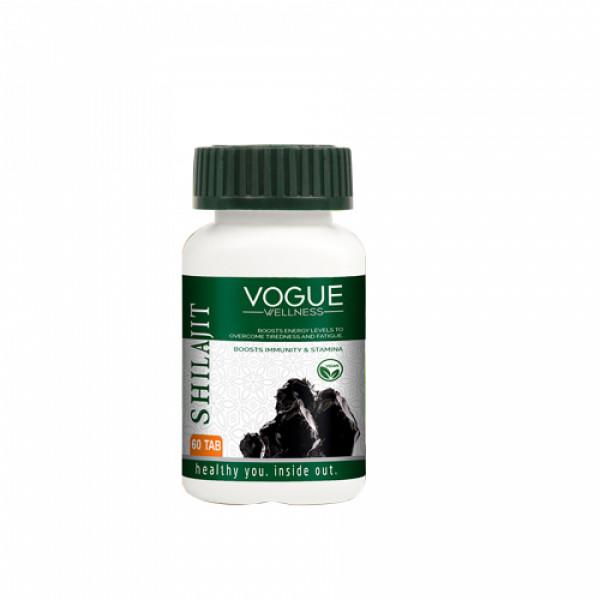 Vogue Wellness Shilajit, 60 Tablets