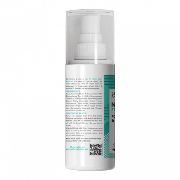 The Skin Story No Rinse Foam Cleanser, 50ml