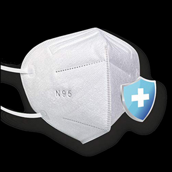 Sterimask 9090 N95 White Mask, 50 Pieces