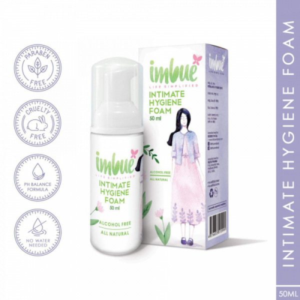 Imbue Intimate Hygiene Foam, 50ml