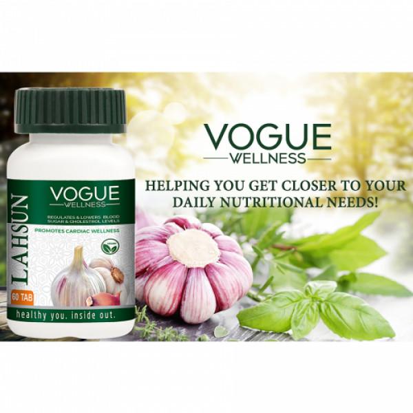 Vogue Wellness Lahsun, 60 Tablets