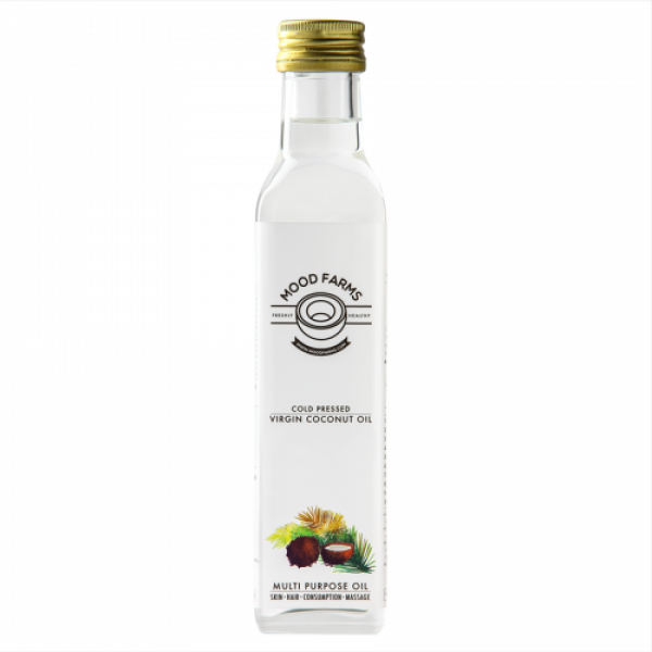 Mood Farms Cold Pressed Virgin Coconut Oil, 500ml