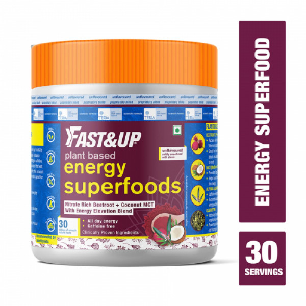 Fast&Up Plant Based Energy Superfoods, 150gm