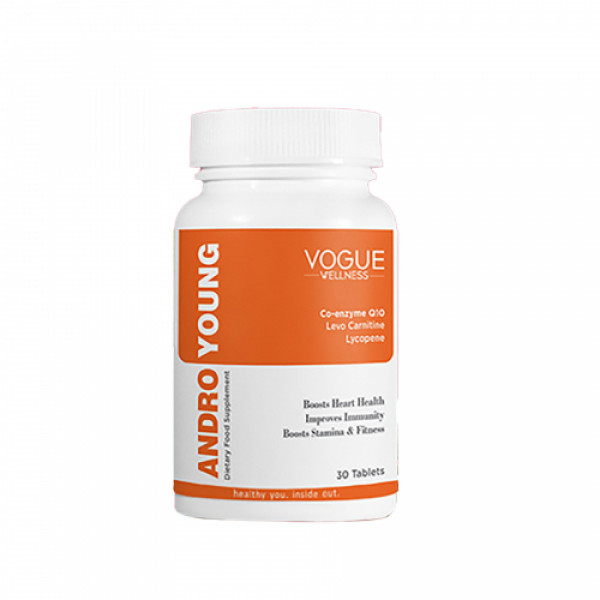 Vogue Wellness Andro Young, 30 Tablets