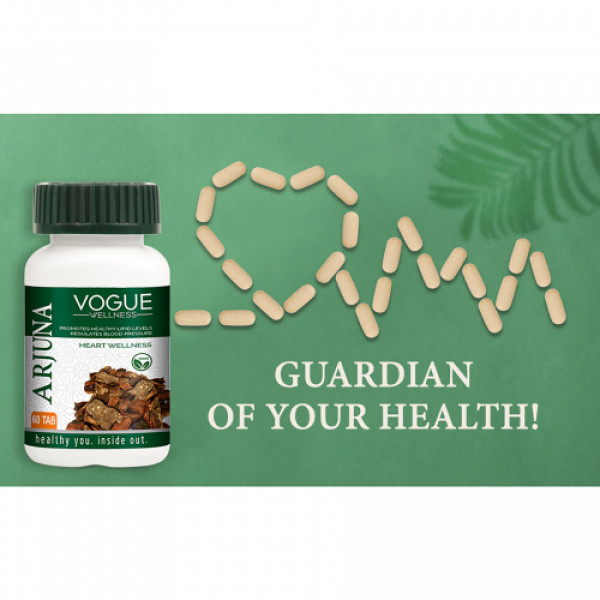 Vogue Wellness Arjuna, 60 Tablets