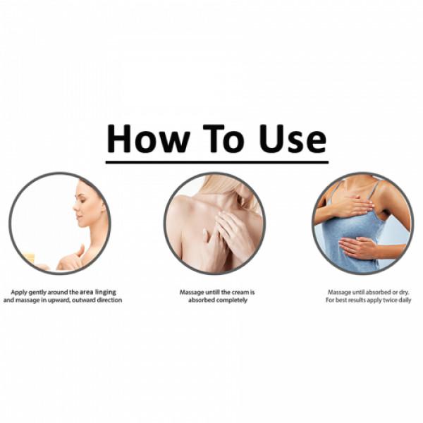 Vigini Natural Actives Bust Firming Massage Cream, 100gm