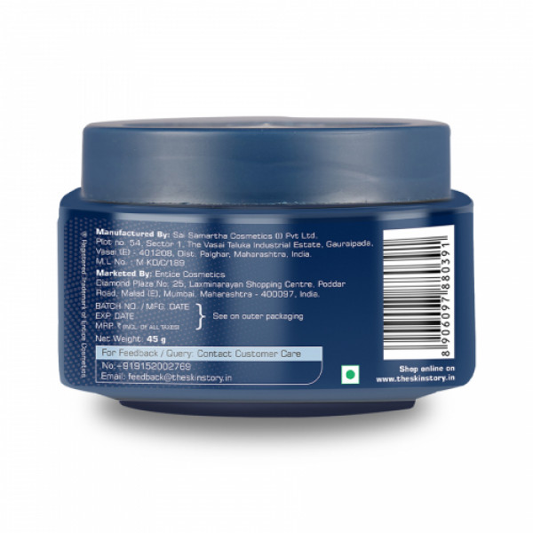 The Beard Story Beard & Moustache Styling Wax For Strong Hold With Shine, 45gm