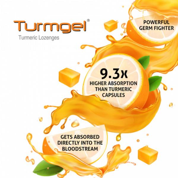 Turmgel Orange, 10 Lozenges (Pack of 10)