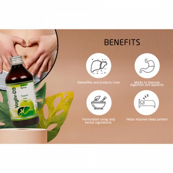 Vogue Wellness Vogliv DS Syrup, 200ml