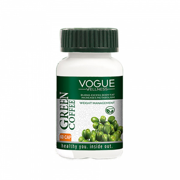 Vogue Wellness Green Coffee, 60 Tablets