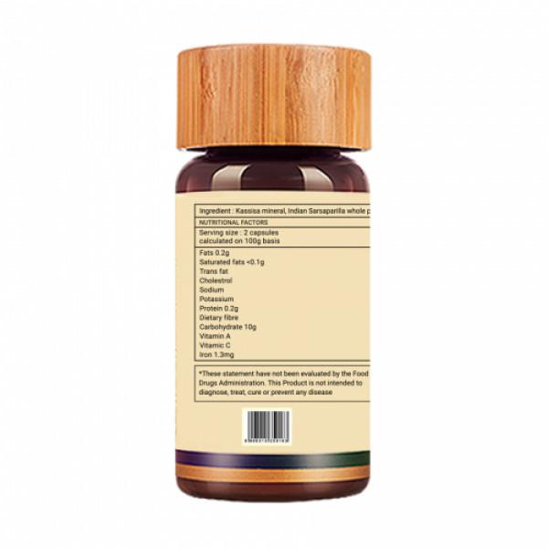 Biogetica Hemosolve - Daily Iron Supplement, 80 Capsules