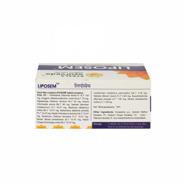 Kerala Ayurveda Liposem, 100 Tablets