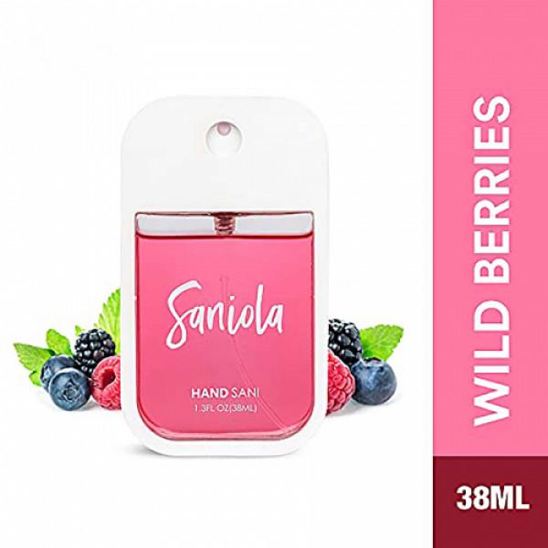 Saniola Wild Berries Hand Sani, 38ml