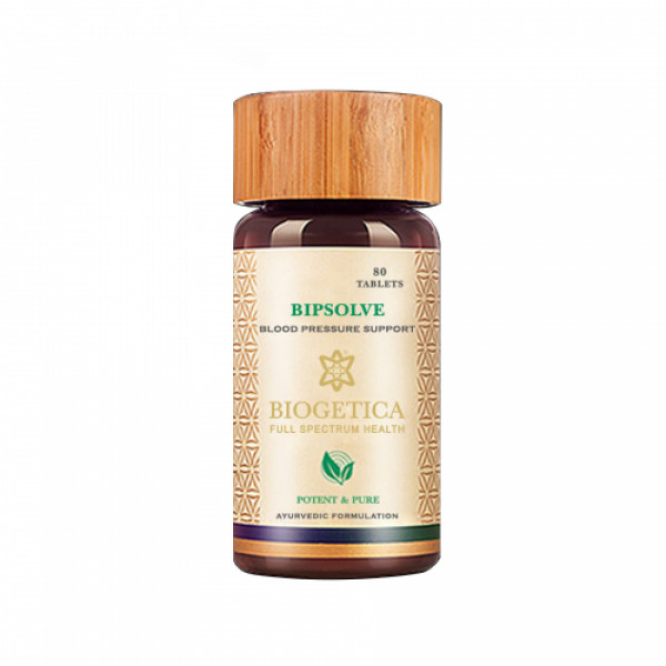Biogetica BipSolve - Hypertension, 80 Tablets