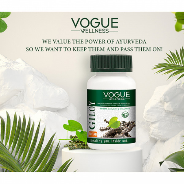 Vogue Wellness Giloy, 60 Tablets