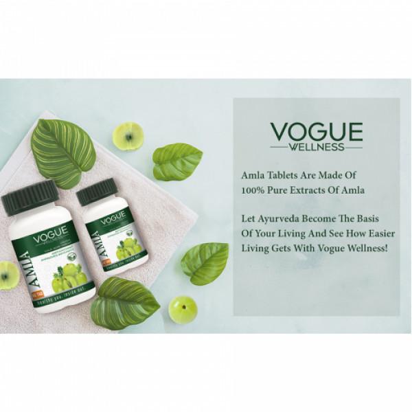 Vogue Wellness Amla, 60 Tablets