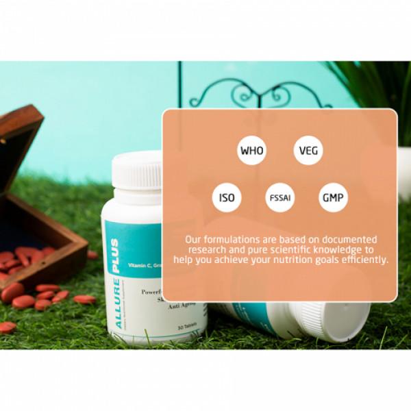 Vogue Wellness Allure Plus, 30 Tablets