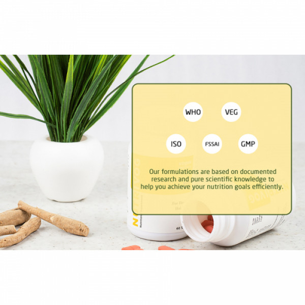 Vogue Wellness Nutrivog, 60 Tablets