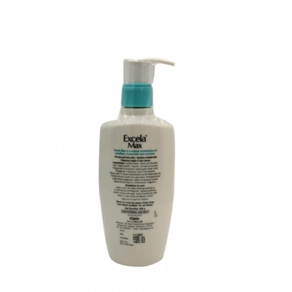 Excela Max moisturiser, 200gm