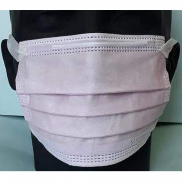 Sterimask 3PLY 5064 Pull Out Pink Mask For Kids, 50 Pieces