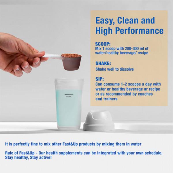 Fast&Up Whey Essentials Premium Whey Blend Protein Creamy Coffee, 1920gm