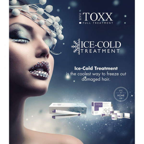Hair Toxx Ice-Cold Treatment Frozen Flat Iron