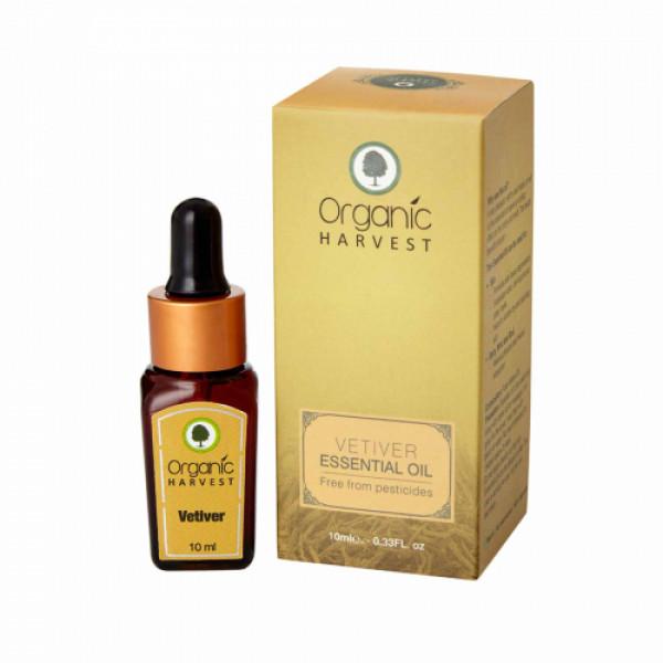 Organic Harvest Vetiver Essential Oil, 10ml