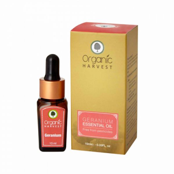 Organic Harvest Geranium Essential Oil, 10ml