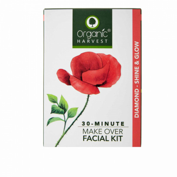 Organic Harvest Diamond- Shine & Glow Facial Kit, 60gm
