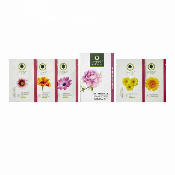 Organic Harvest Gold- Age Reversal Facial Kit, 50gm