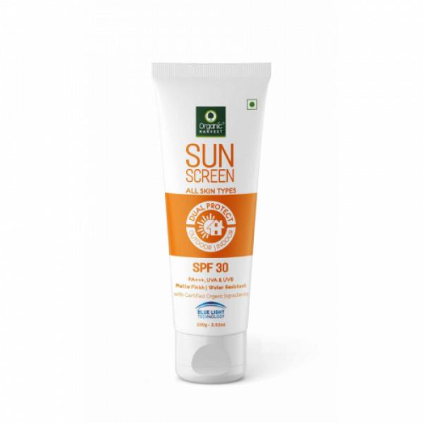 Organic Harvest Sunscreen - For All Skin SPF 30, 100gm