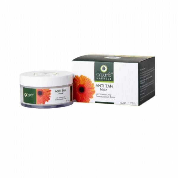 Organic Harvest Anti Tan Mask, 50gm