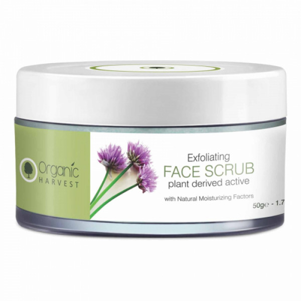 Organic Harvest Exfoliating Face Scrub, 50gm