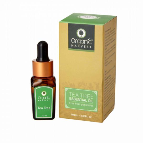 Organic Harvest Tea Tree Essential Oil, 10ml