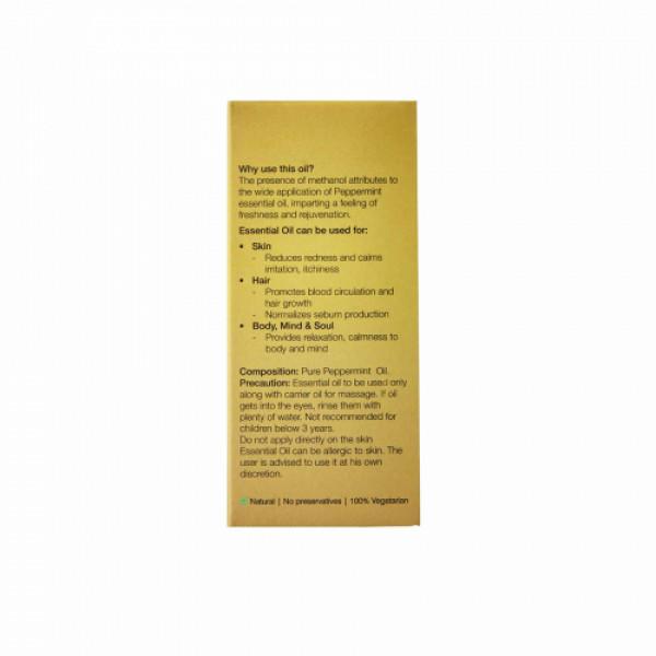 Organic Harvest Pepper Mint Essential Oil, 10ml